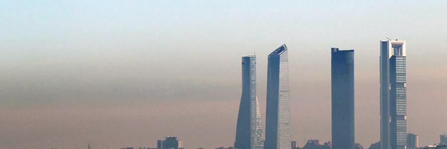 Un tercio de los españoles respira aire contaminado