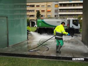 El Ayuntamiento de Pamplona invertirá siete millones en la limpieza urbana de la ciudad