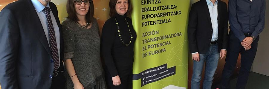 Una delegación de ICLEI visita Euskadi para cerrar el programa de la 8ª Conferencia Europea de Ciudades y Pueblos Sostenibles