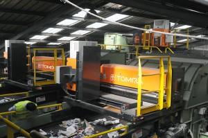 TOMRA Sorting aumenta el valor de la recuperación de papel con la clasificación automática