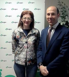 Los gestores de residuos trasladaron a la eurodiputada Maite Pagazaurtundúa sus preocupaciones