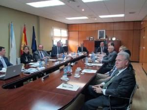 El Gobierno Vasco se interesa por el modelo de transporte intermodal de residuos de Sogama
