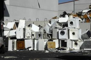 Residuos electrónicos. Grandes electrodomésticos.