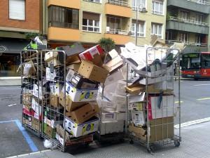 La recogida de papel y cartón para reciclar crece por segundo año consecutivo