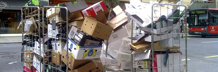 La recogida de papel para reciclar crece por segundo año consecutivo y alcanza los 4,6 millones de toneladas
