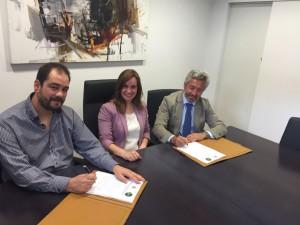 Firma acuerdo de colaboración con Ayuntamiento de Jijona