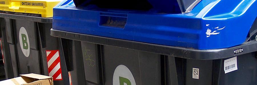 Ya está en pruebas el contenedor azul antirrobo