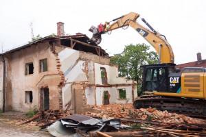Demolición edificio