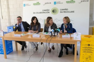 La Xunta y Ecoembes promoveran el reciclaje de envases en los albergues del Camino de Santiago