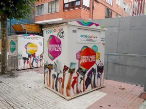 Bilbao dispondrá de 73 contenedores para la recogida de residuos reutilizables