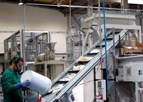Demostración del proyecto BRIO de reciclaje de palas de aerogeneradores