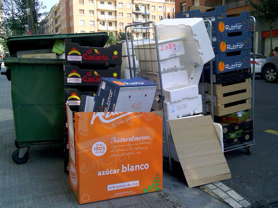 Empresa de recogida de residuos en granada