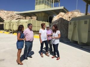Entregada la nueva estación de transferencia de residuos urbanos de Jumilla (Murcia)