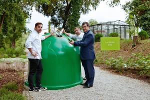 Los hermanos Roca y Ecovidrio ponen en marcha La Gran cadena del reciclaje