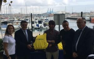 Entrega premio Ponte las pilas al Real Club Náutico de Algeciras