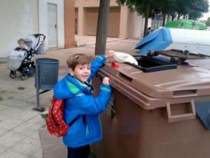 Buen comienzo del programa piloto de recogida y compostaje de materia orgánica en Huesca