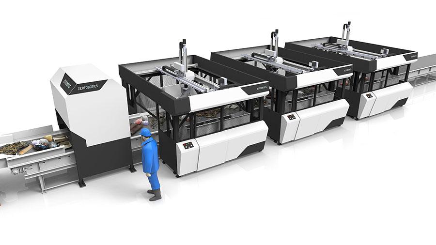 ZenRobotics actualiza su robot de reciclaje