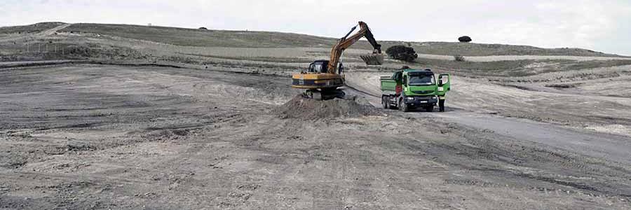 Concluye la limpieza de los residuos del incendio en el vertedero de Seseña