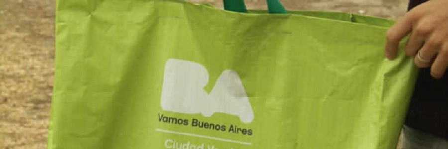 El 2017 empieza sin bolsas de plástico en los supermercados de Buenos Aires