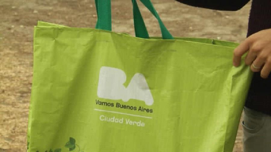 Entra en vigor la prohibición de bolsas de plástico en los supermercados de Buenos Aires