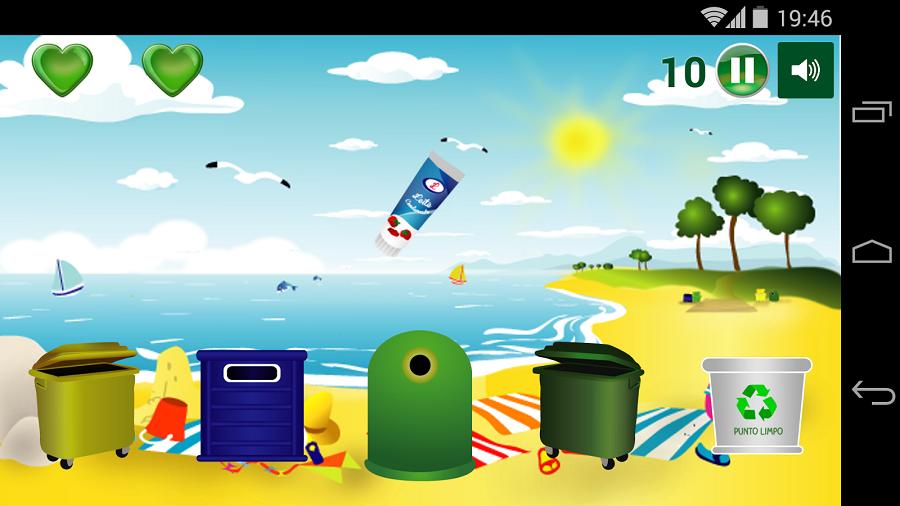 Una App de Sogama resuelve las dudas sobre reciclaje