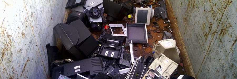 Recogidos 26 millones de kg de residuos electrónicos en Andalucía en 2015