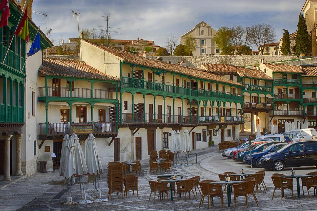 Plaza de Chinchón. Por M.Peinado en Flickr. (CC BY 2.0)