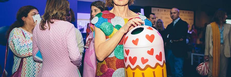 Sostenibilidad y reciclaje en la nueva colección de Agatha Ruiz de la Prada