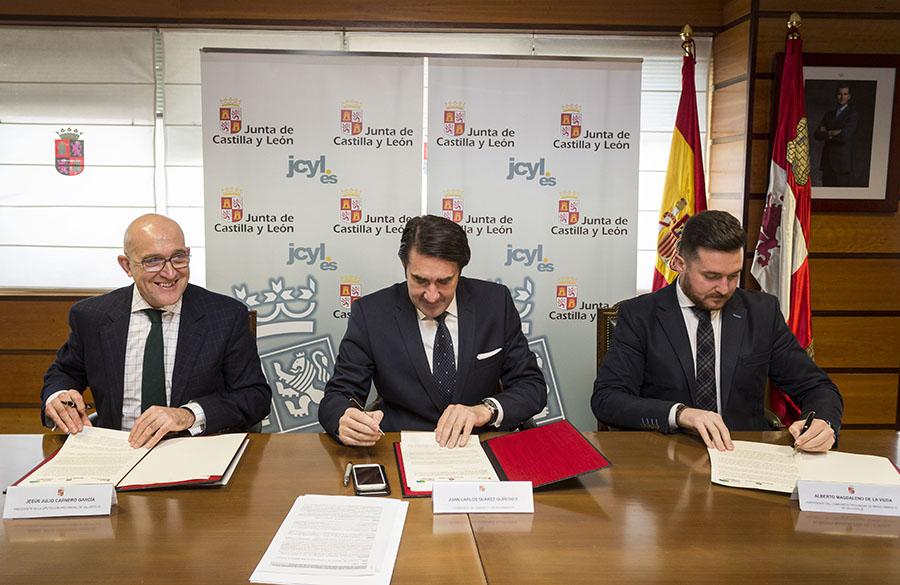 Acuerdo para la erradicación de escombreras en la provincia de Valladolid