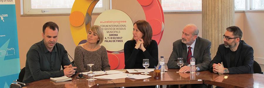 El Foro #wasteinprogress presentará en Girona 12 experiencias de éxito internacional en recogida selectiva de residuos