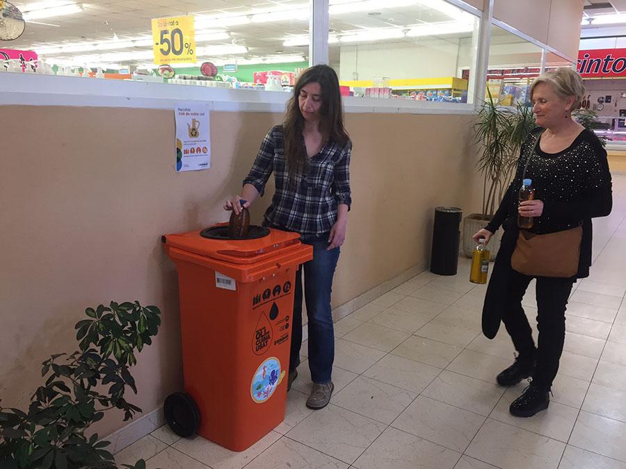 El Ayuntamiento de Palma cambia el sistema de recogida de aceite usado