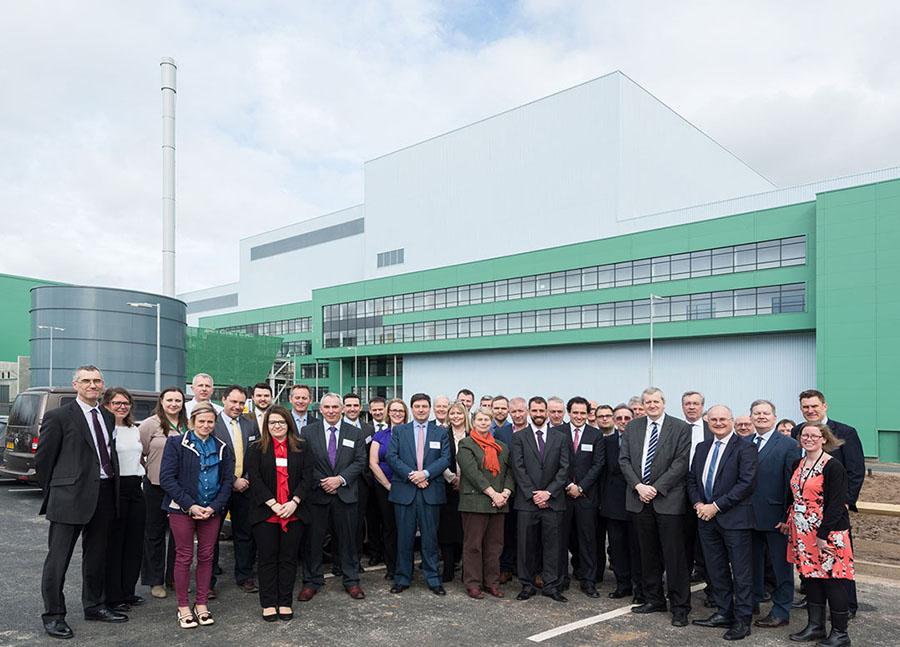 FCC pone en marcha una nueva planta de valorización energética de residuos