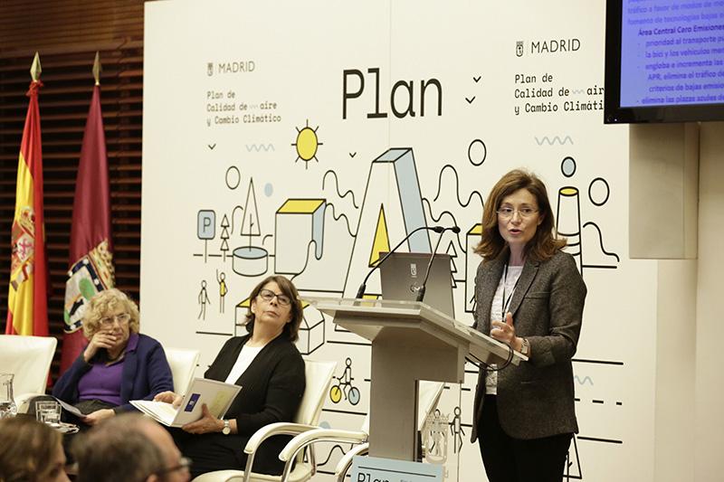 Carmena Sabanes Plan Calidad Aire