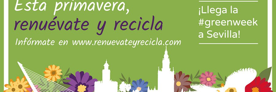 La Fundación Ecolec fomenta el reciclaje de residuos electrónicos en la primera Green Week de Sevilla