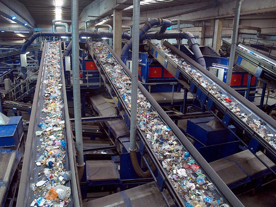 El reciclado de residuos alcanzó las 19,1 millones de toneladas el año pasado