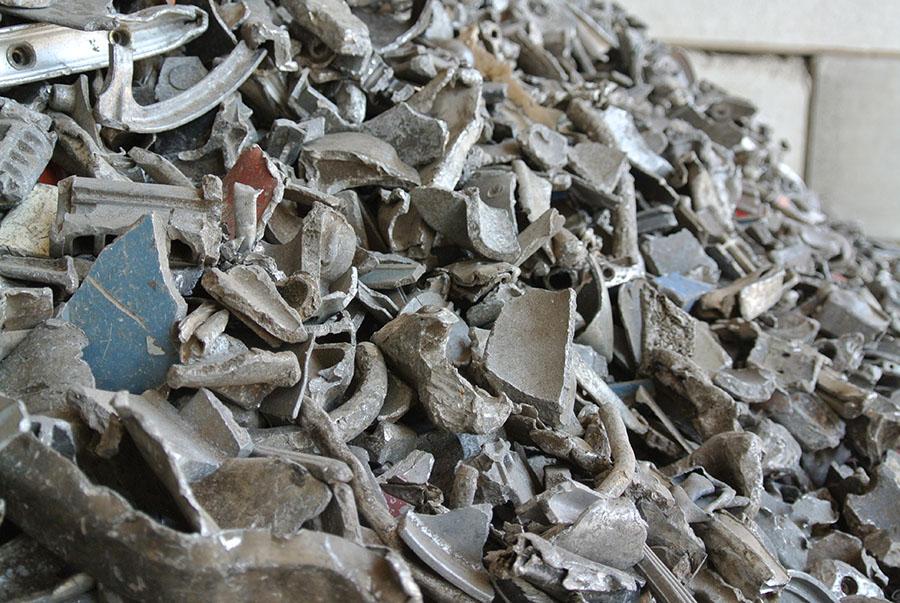 Residuos de aluminio clasificado