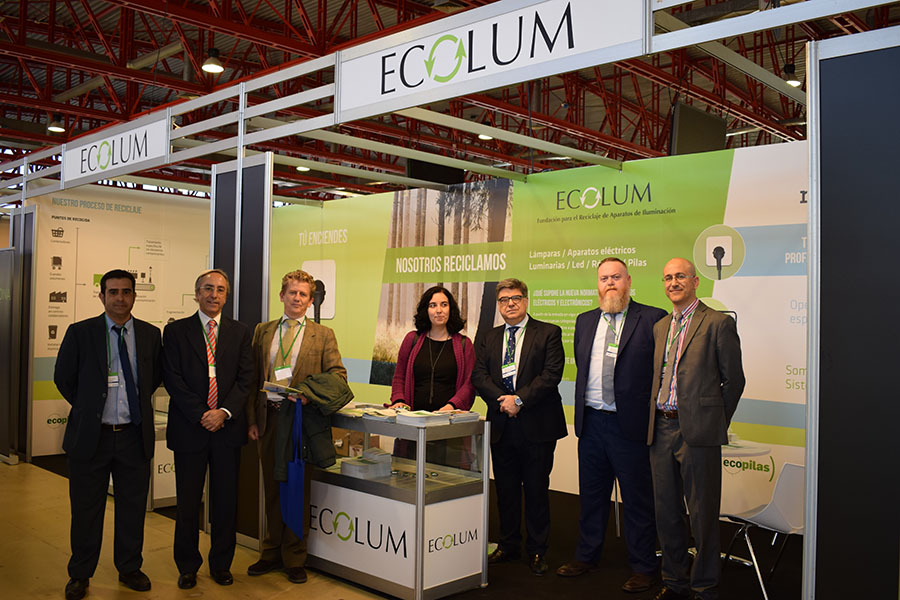 ECOLUM participó junto con RECYCLIA en EFICAM