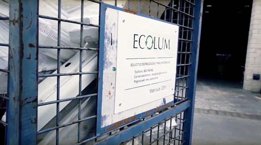 ECOLUM se integra en la plataforma Recyclia