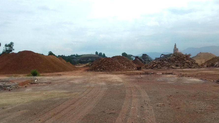 Descontaminación de suelos contaminados en Sant Llorenç