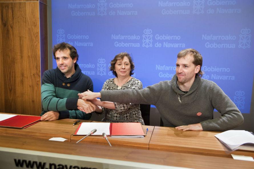Protocolo colaboración Navarra