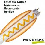 Nueva campaña sobre el reciclaje de lámparas en el metro de Madrid