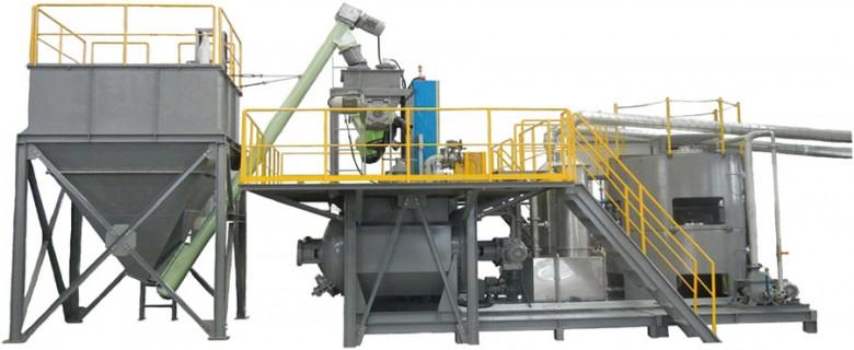 Sistema de reciclado de residuos orgánicos