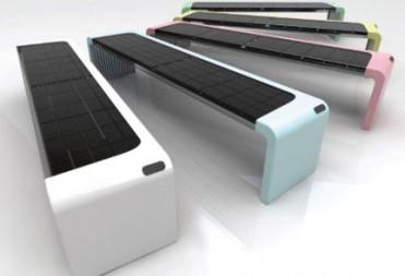 Mobiliario urbano que produce energía renovable