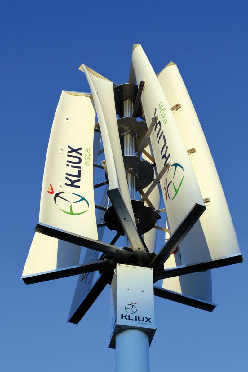 Aerogenerador vertical para entornos urbanos y residenciales