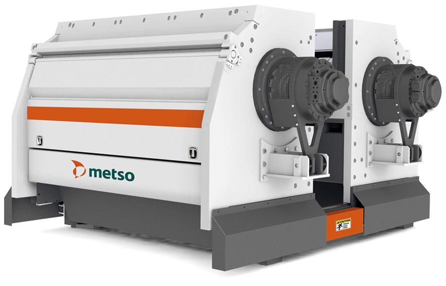 Triturador de dos rotores M&J EtaFineShred 6500