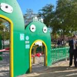 Alcorcón instala el primer parque infantil ambientado en el reciclaje