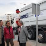 Un minuto para recoger los residuos de los contenedores soterrados de Motril
