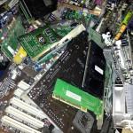 Micropuntos de reciclaje de residuos electrónicos con fines solidarios