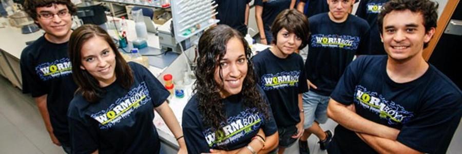 Jóvenes científicos trabajan en la combinación de bacterias y gusanos para obtener bioplásticos