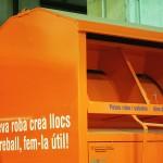 Nuevos contenedores de recogida de ropa en los puntos limpios de Cambrils